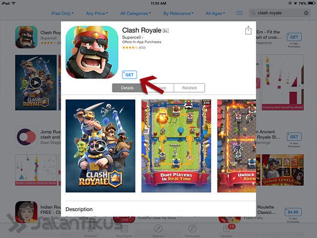 Cara Download Dan Main Clash Royale 5