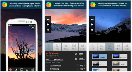 Aplikasi Android Video Time Lapse 2