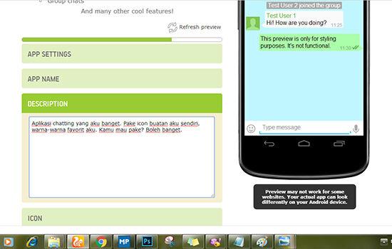Cara Membuat Aplikasi Chatting Android 3
