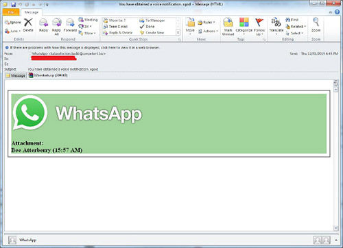 Email Scam Whatsapp 2