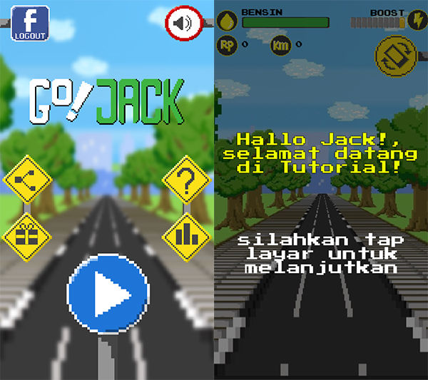 Review Game Gojack