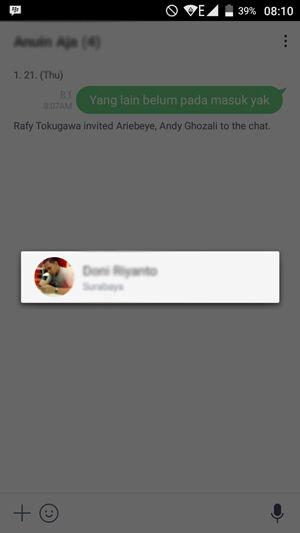 Line Artinya : Cara mengetahui siapa yang membaca chat di grup line