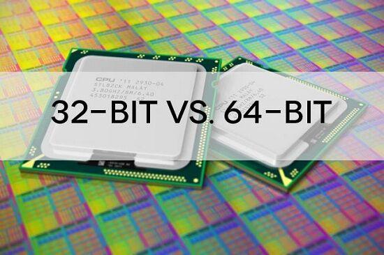 prosesor 32 dan 64 bit