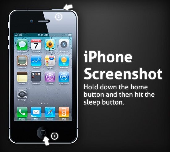 screenshot iphone asli