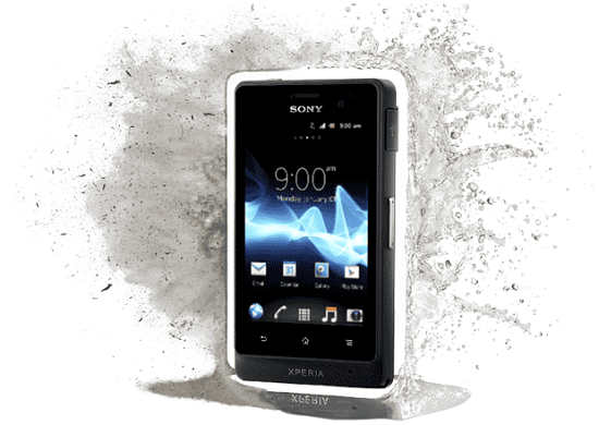 xperia go anti air
