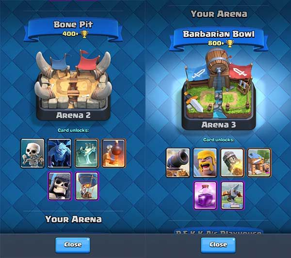 cara-cepat-naik-level-clash-royale