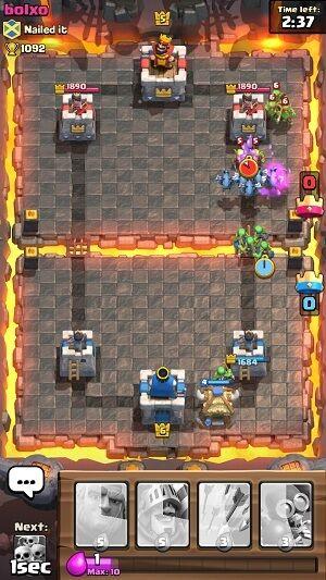 Tips menang clash royale 4