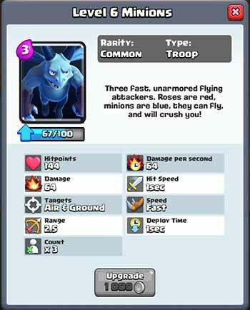 Battle Deck Level 4 Terbaik Clash Royale 8