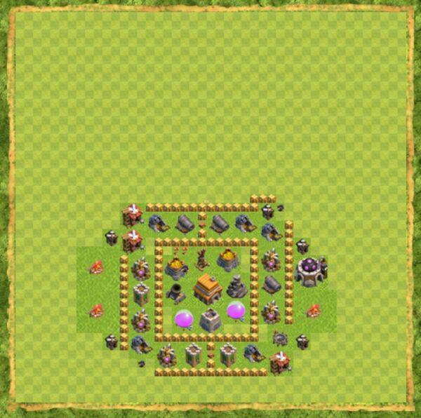 Base Farming Coc Th 5 Terbaru 1