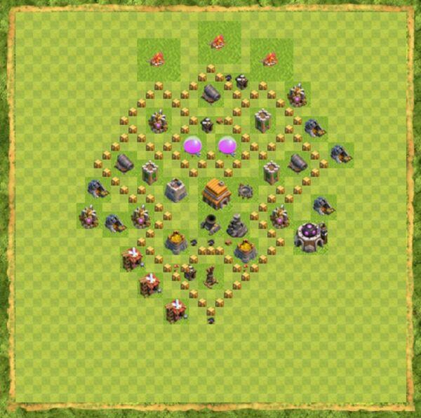 Base Farming Coc Th 5 Terbaru 2