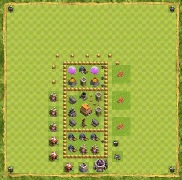 Base Farming Coc Th 5 Terbaru 4