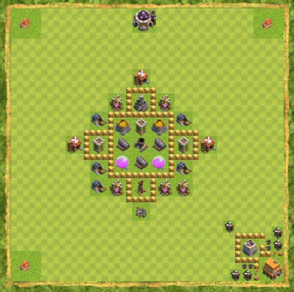 Base War Coc Th 5 Terbaru 10