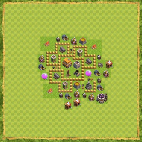 Base War Coc Th 5 Terbaru 6
