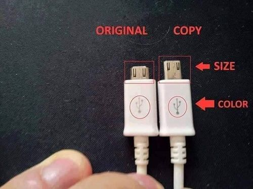 How to distinguish between genuine and fake charger (2)