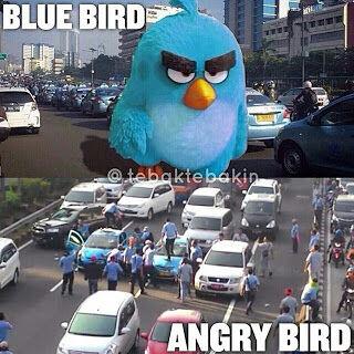 Meme Demo Taksi Blue Bird 4