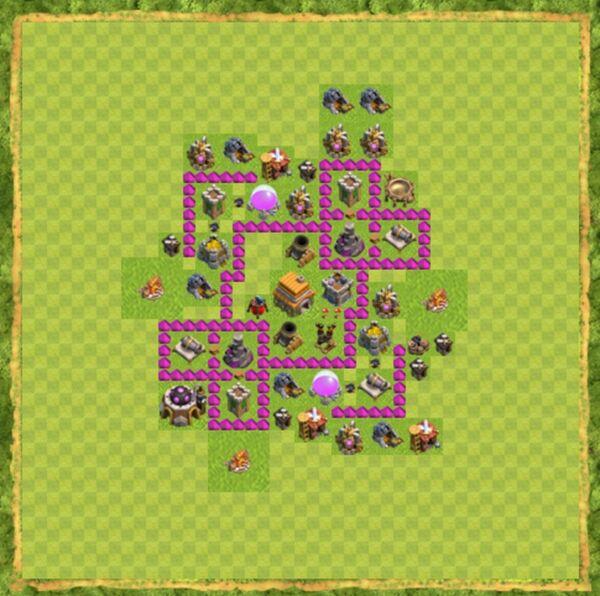 Base War Coc Th 6 Terbaru 5