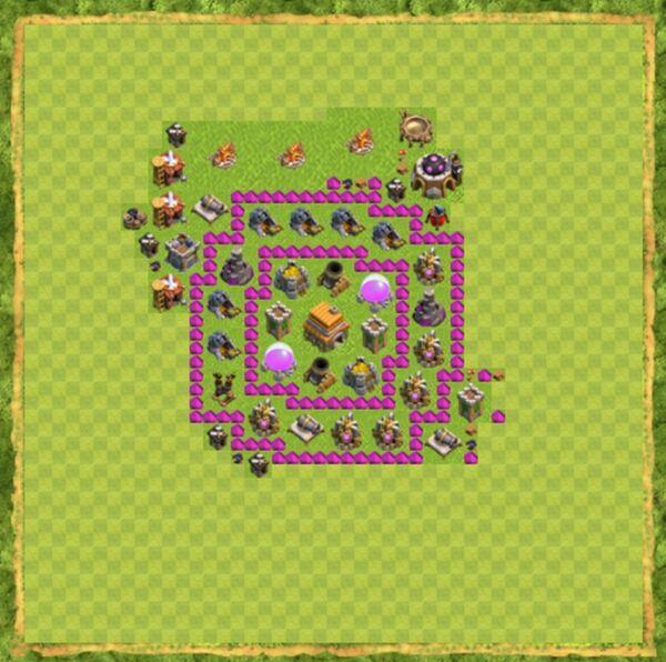 Base War Coc Th 6 Terbaru 9