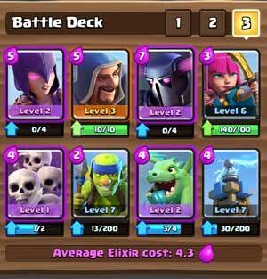 Kombinasi Deck Pekka Clash Royale 3