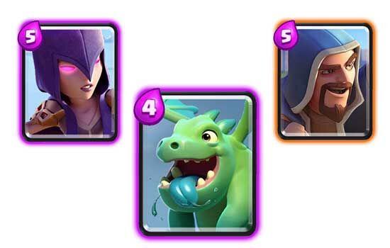 Kombinasi Deck Pekka Clash Royale 4