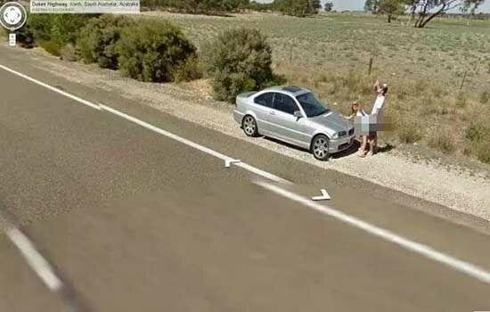 Peristiwa Aneh Di Google Street View 3