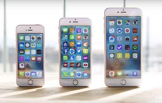 Iphone Se Vs Iphone 6s Vs Iphone 6s Plus