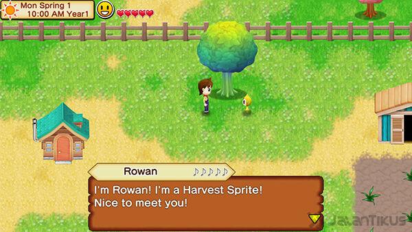 Harvest Moon Seeds Of Memories 3