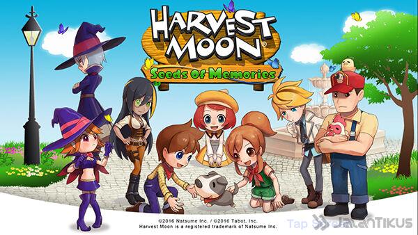 Harvest Moon Seeds Of Memories 9