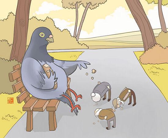 Ilustrasi Perlakuan Hewan ke Manusia (10)