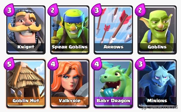 Battle Deck Baby Dragon Clash Royale 9