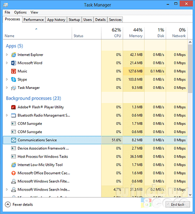 Stop Apps From Running In Background In Windows 8 1