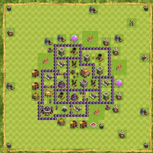 Base War Coc Th 7 Terbaru 2