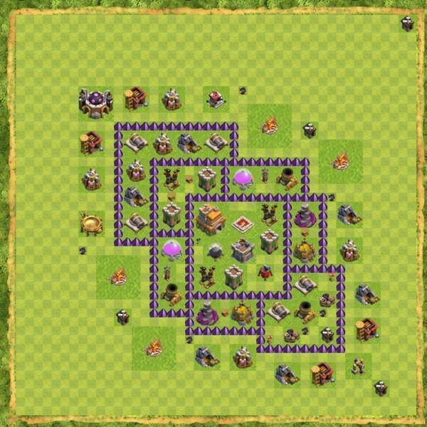 Base War Coc Th 7 Terbaru 4