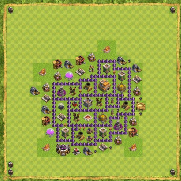 Base War Coc Th 7 Terbaru 9