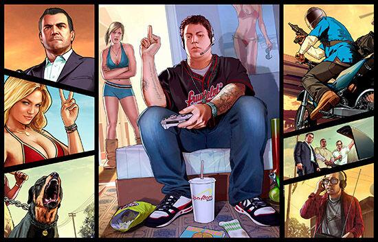15 Game yang Terancam Diblokir Oleh Pemerintah - Grand Theft Auto