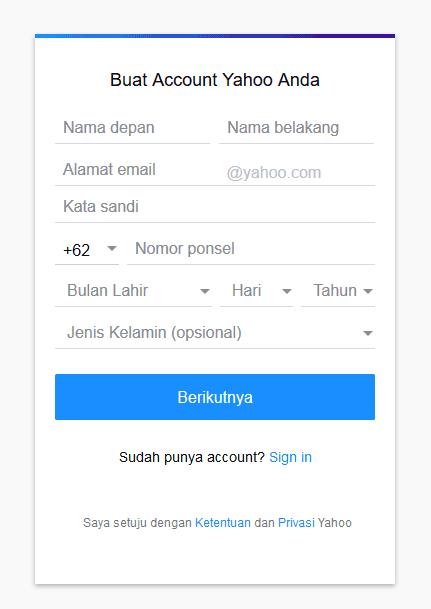 Cara Membuat Email Gratis 5