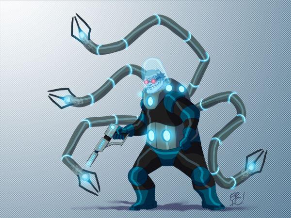 Karakter Marvel Fusion Dengan Dc 15