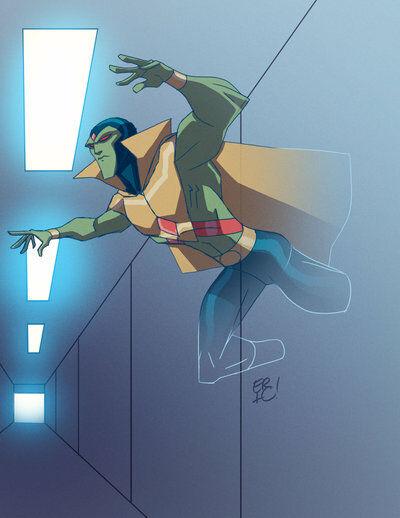 Karakter Marvel Fusion Dengan Dc 17