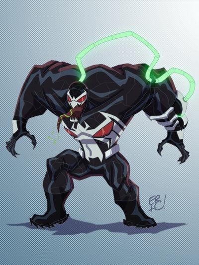 Karakter Marvel Fusion Dengan Dc 25
