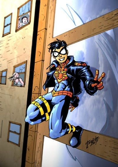 Karakter Marvel Fusion Dengan Dc 26