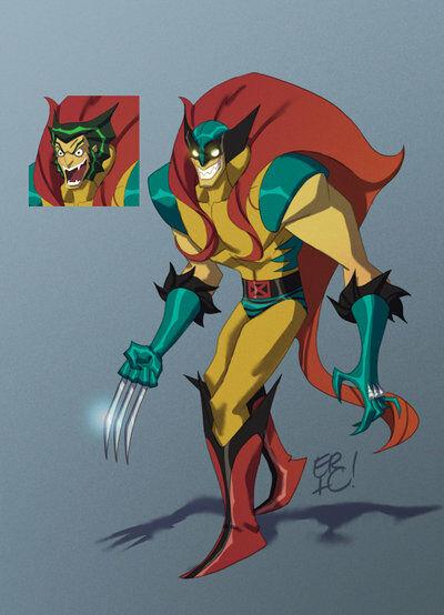 Karakter Marvel Fusion Dengan Dc 3