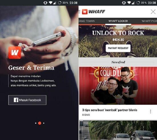 whaff locker - aplikasi imbalan besutan whaff