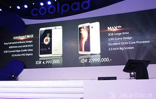 Coolpad Max 6