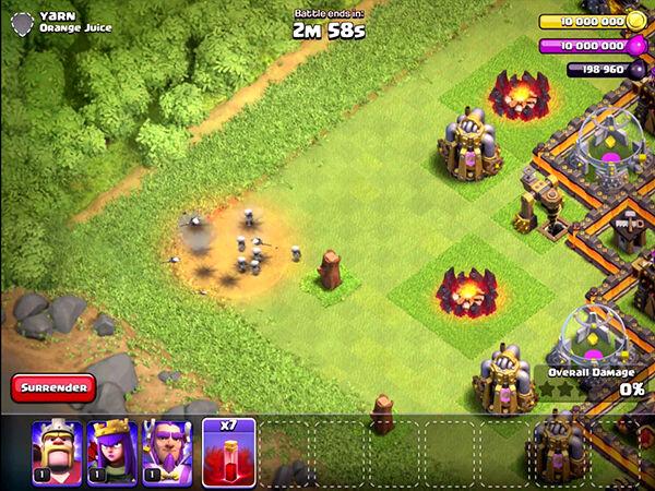 Skeleton Spell Clash Of Clans 2