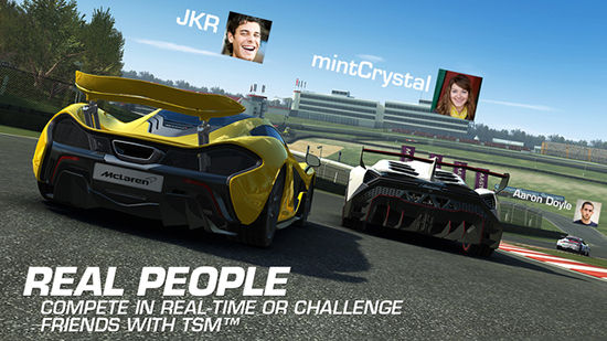 Game Multiplayer Android Multi Platform Racing 3