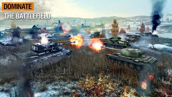 Game Multiplayer Android World Of Tanks Blitz