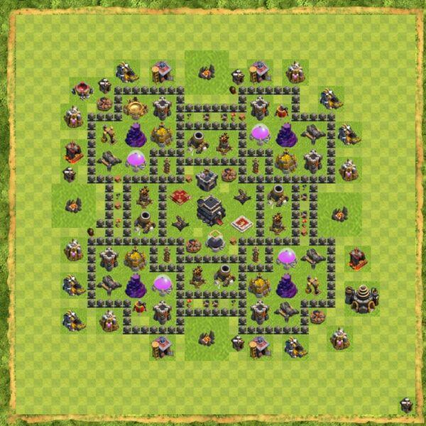 Base War Coc Th 9 Terbaru 12
