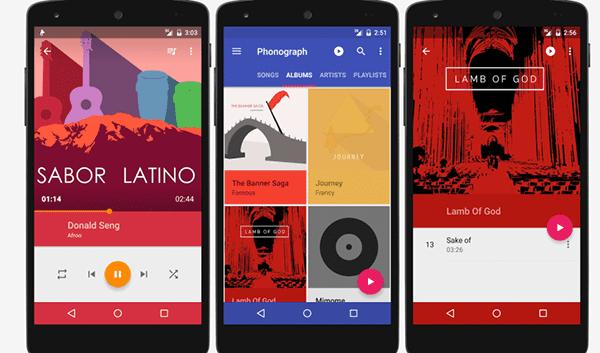 aplikasi pemutar musik terbaik android 1