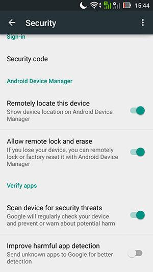 Cara Menyalakan Android Device Manager