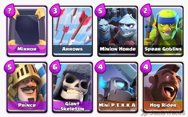 Battle Deck Mini Pekka Clash Royale 11