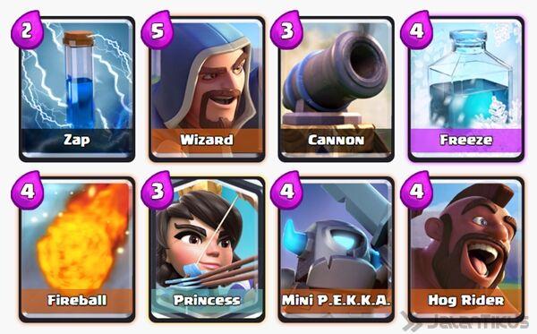 Battle Deck Mini Pekka Clash Royale 17